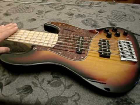 How to enhance your 5 strings bass guitar sound - part 1 - Frudua GFJ bass