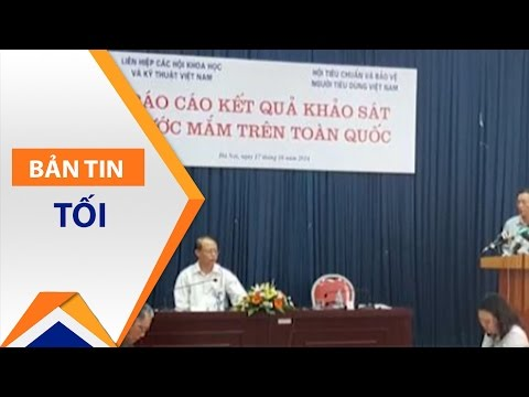 Cách chức Phó TTK Vinatas vì 'nước mắm nhiễm arsen' | VTC1 - Thời lượng: 55 giây.