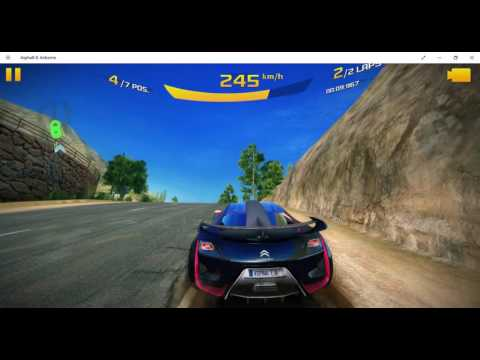 Asphalt 8 Windows 10 DS Survolt Cloud Nine Online Classic