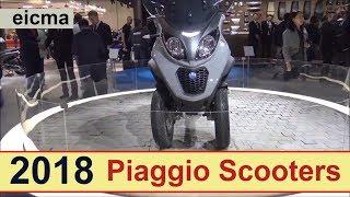 8. The 2018 Piaggio Scooters.!!!