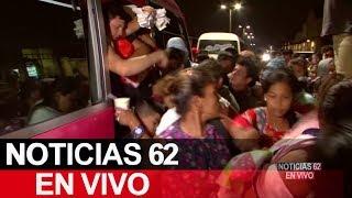Miles de personas en una nueva caravana. – Noticias 62. - Thumbnail