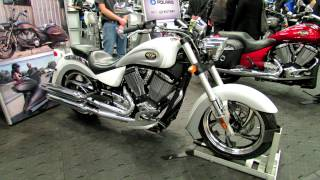 10. 2012 Victory Kingpin at 2012 Montreal Motorcycle Show - Salon de la Moto de Montreal