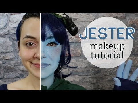 Makeup Tutorial: Jester from Critical Role