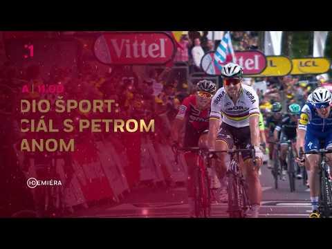 Štúdio šport: Špeciál s Petrom Saganom