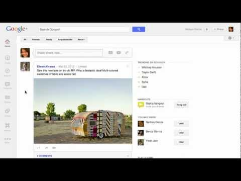 Image of Reading and Responding - Google+ (G+) video commercial