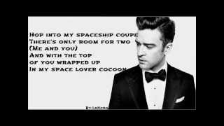 Justin Timberlake - Spaceship Coupe ( Lyrics on Screen&Description ) 2013 ( The 20 / 20 Experience )
