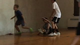 3v3 Basketball game