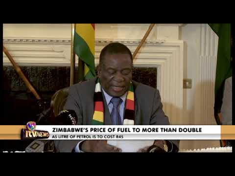 ZIMBABWE'S PRICE OF FUEL TO MORE THAN DOUBLE