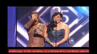 Jenni Rivera - Artista Del Año - Premios Lo Nuestro 2013