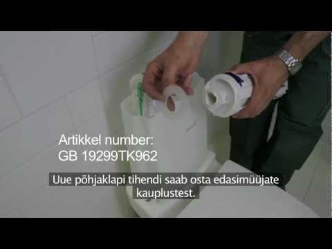 GB 33 Nautic wc-poti lekke likvideerimine