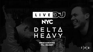 Delta Heavy - Live @ DJ Mag NYC 2016