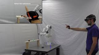 An Augmented Reality Interface for Improving ask Performance in Close-Proximity Teleoperation