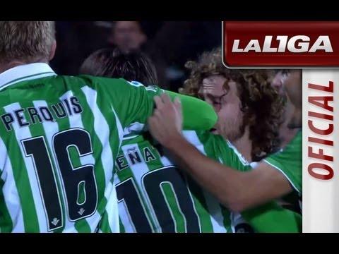 La Liga   Getafe CF - Real Betis (2-4)   05-11-2012   J10   Resumen (видео)