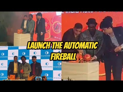Remo D'souza And Roshaan Mishra,CEO Brandsdaddy Launch The Automatic Fireball