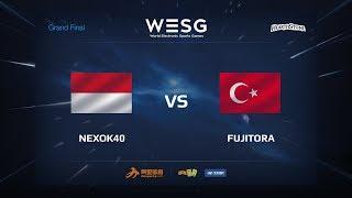 Fujitora vs nexok40, game 1