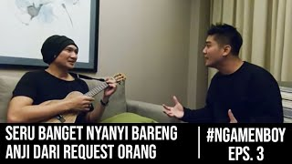 Video #NgamenBoy Eps. 3 - Anji BONGKAR RAHASIA Trending Youtube untuk Boy William!! MP3, 3GP, MP4, WEBM, AVI, FLV September 2018