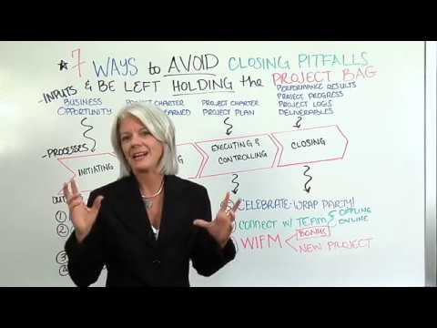 Avoiding Project Pitfalls Video