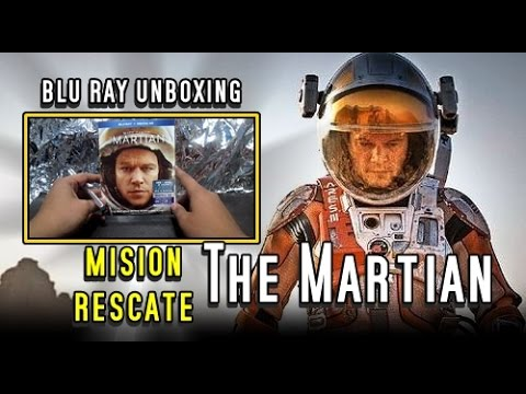 The Martian Mision Rescate Blu ray Unboxing