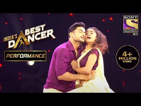 Sadhwi और Himanshu के Dance ने बनाया एक Romantic माहौल | India's Best Dancer