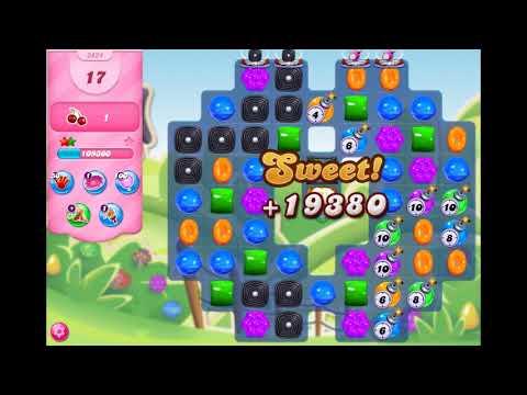 Candy Crush Saga - Level 3424 ☆☆☆