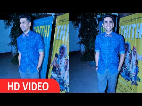 Gulshan Devaiya At Screening Of Film THITHI