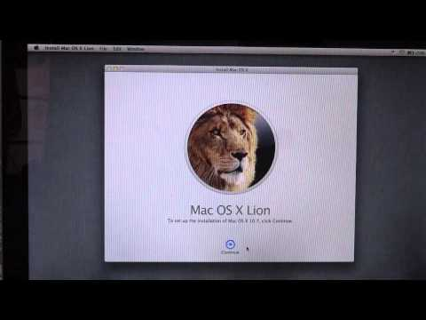 os x lion - Please Read Before Watching!! This Tutorial is for installing Mac OS X Lion 10.7 over Leopard. Now you can update to Mac OS X Lion directly from Leopard 10.5...