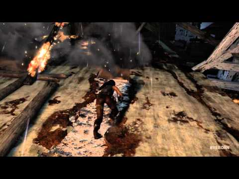 Tomb Raider Reboot Gets Brand New Trailer with Lots of Gameplay Footage