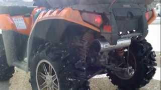 5. 2012 Polaris Sportsman 850HO Hot Seat Performance Exhaust