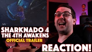 REACTION! Sharknado 4: The 4th Awakens Official Trailer #1 - SyFy Movie 2016