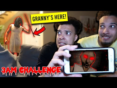 WE PLAYED GRANNY DURING THE DEVIL'S HOUR    **SHE CAME TO OUR HOUSE**