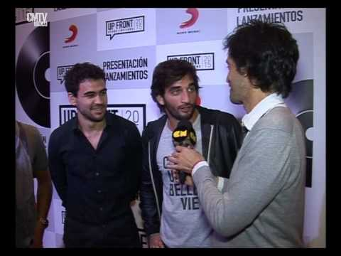 Agapornis video Entrevista Sony Up Front - Mayo 2015