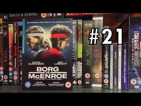 THE DVD HAUL #21 - Borg Vs. McEnroe (2017)