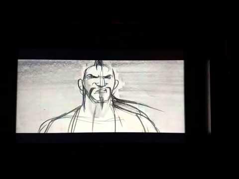 Mulan 2, battle sequence