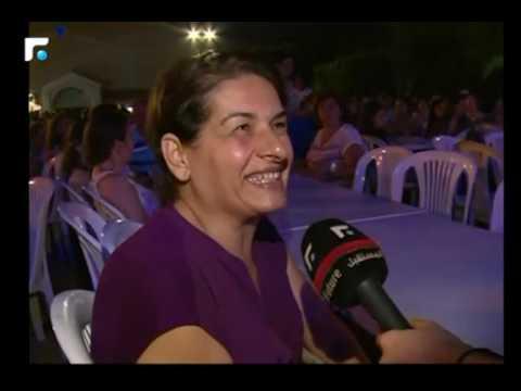 الفنان زياد برجي احيا مهرجان مار الياس انطلياس