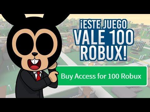 ROBLOX: ESTE JUEGO VALE 100 ROBUX, PERO... ¿ES TAN BUENO?  Alone