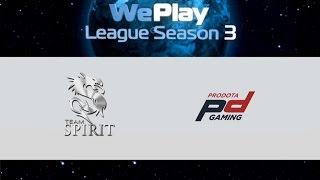 Spirit vs ProDota, game 1