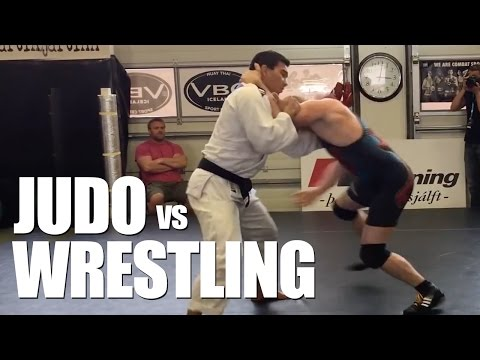 Jiujitsu vs Wrestling