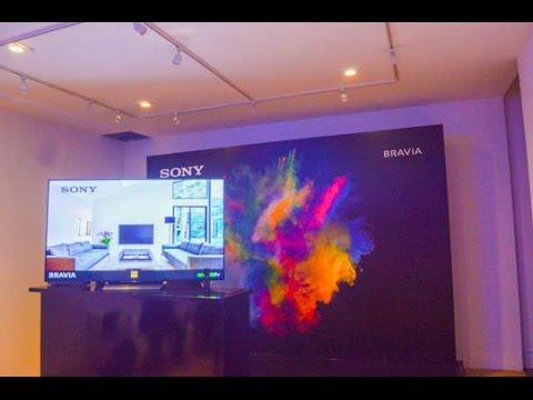 Sony presenta sus televisores 4K HDR en México 2016