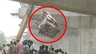 Video Vanarasi Flyover Collapse मामले से जुड़ी सारी बातें, घटना का कारण MP3, 3GP, MP4, WEBM, AVI, FLV Mei 2018