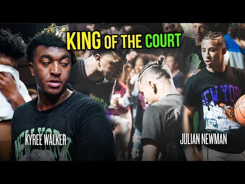 """""""I Should Be Wearing That Crown."""" Julian Newman vs Kyree Walker & More In EXTREME King Of The Court!"""