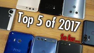 Read more: http://pocketnow.comLee más en Español: http://es.pocketnow.comWe're through the first half of the year, the major phones of this year have been reviewed, so it's time for a ranking! Pocketnow editors voted on a secret ballot. Those votes have been counted, and it's time to share the results! Did your phone make the list? Here's our top 5 best phones (of the first half) of 2017!Subscribe:http://www.youtube.com/subscription_center?add_user=PocketnowvideoAbout us:Pocketnow has been a key source of mobile technology news and reviews since its establishment in 2000. With offices on three continents, Pocketnow offers round-the-clock coverage of the mobile technology landscape, from smartphones to tablets to wearables. We aim to be your number-one source for mobile tech news, reviews, comparisons, and commentary. If you love mobile as much as we do, be sure to subscribe!Follow us:http://pocketnow.comhttp://flipboard.com/@Pocketnowhttp://facebook.com/pocketnowhttp://twitter.com/pocketnowhttp://google.com/+pocketnowhttp://instagram.com/pocketnowJuan's deets:http://twitter.com/somegadgetguyhttp://instagram.com/somegadgetguyJuan's Photo Book http://amzn.to/2nggc3N