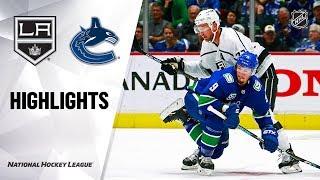 Kings @ Canucks 10/9/19 Highlights