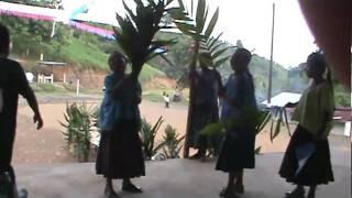 Ensayo De Baile Por Alumnas De La Montañesa