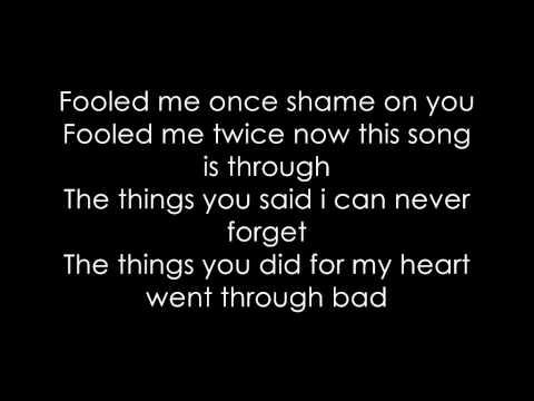 """The Last Time"" - Rihanna (Music of the Sun - 6) Lyrics video"