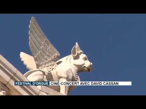 Festival d'Orgue : Ciné-Concert avec David Cassan