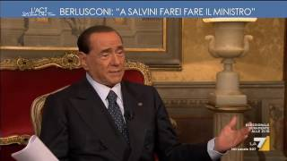 Berlusconi, intervista esclusiva: 'A Salvini farei fare il ministro' Video