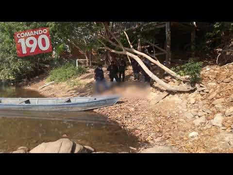 Mulher morre afogada no Rio Machado, em Ji-Paraná