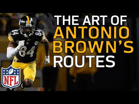 Video: The Art of Antonio Brown's Route Running | Film Review | NFL Highlights