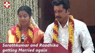 Sarathkumar and Radhika getting married again!