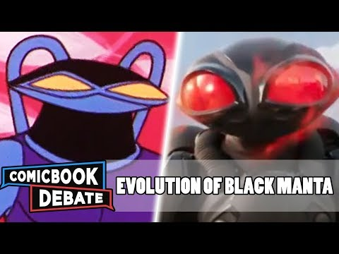 Evolution Of Black Manta In Cartoons, Movies & TV In 9 Minutes (2018)